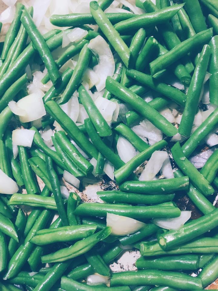 greenbean casserole beans