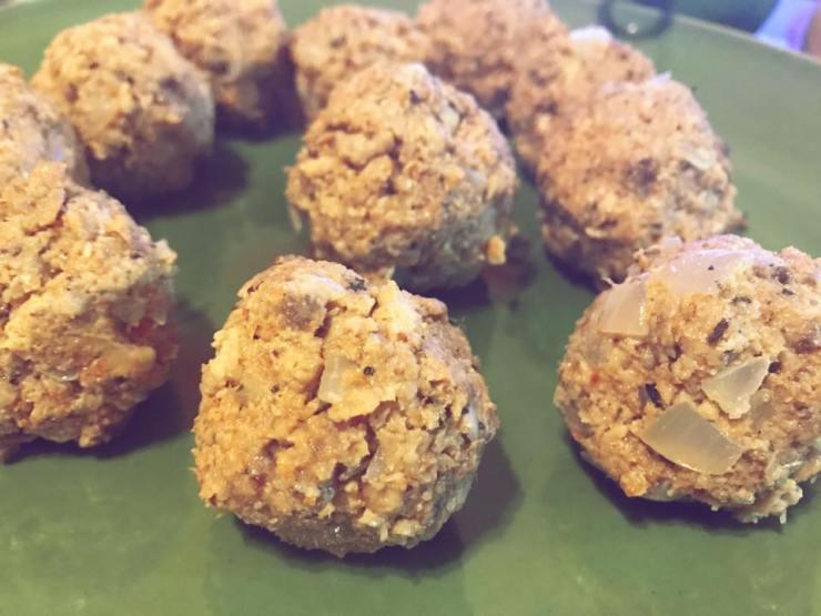 swedish meatballs rolled
